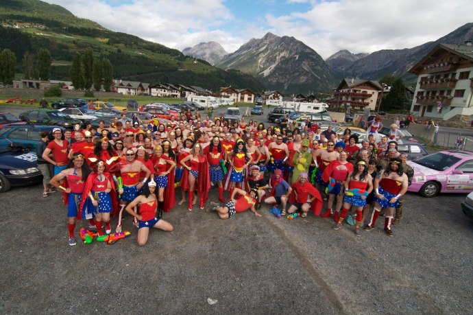 Wonder Women in Bormio